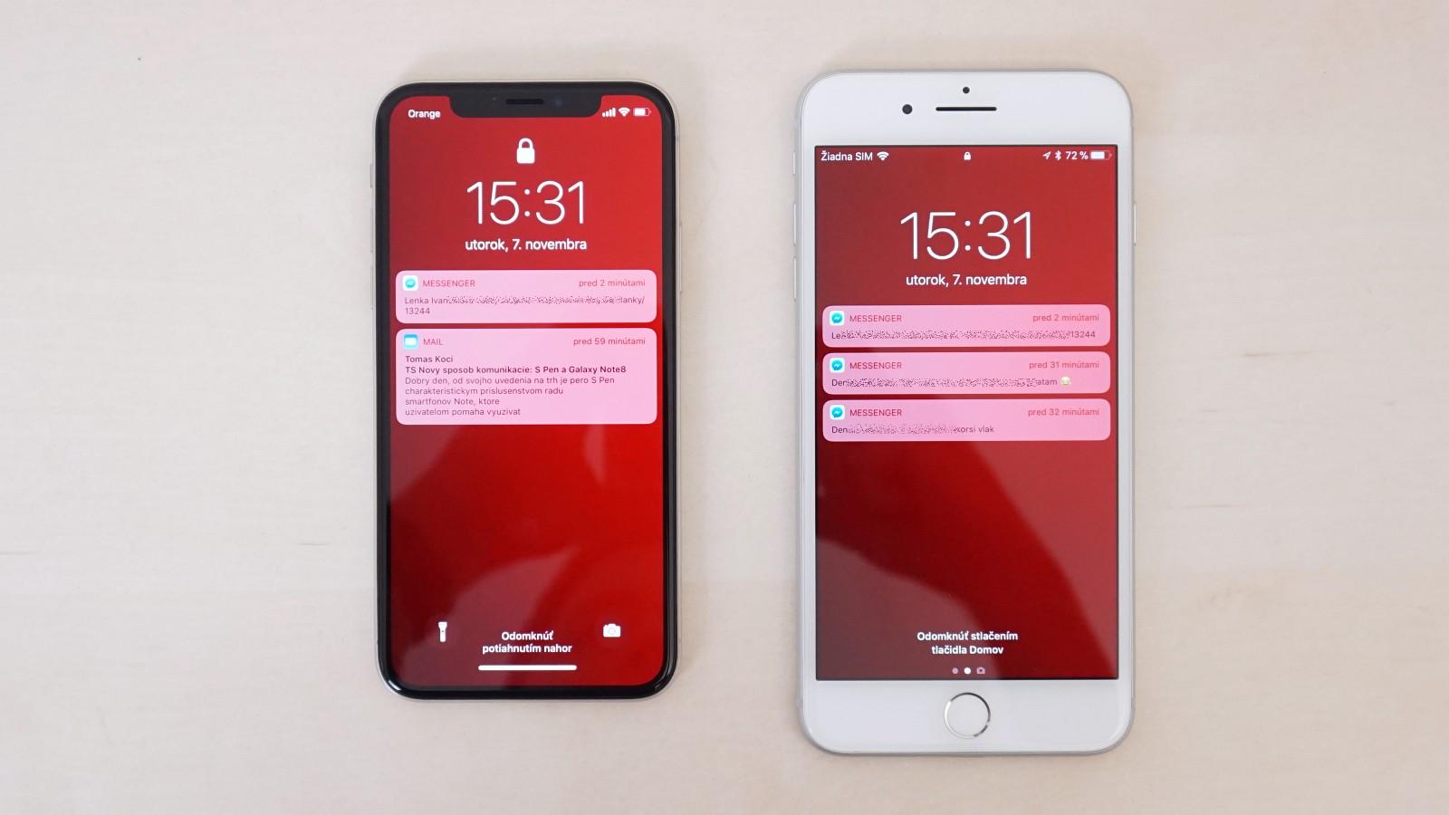 BATERIA IPHONE 8 PLUS VS IPHONE X
