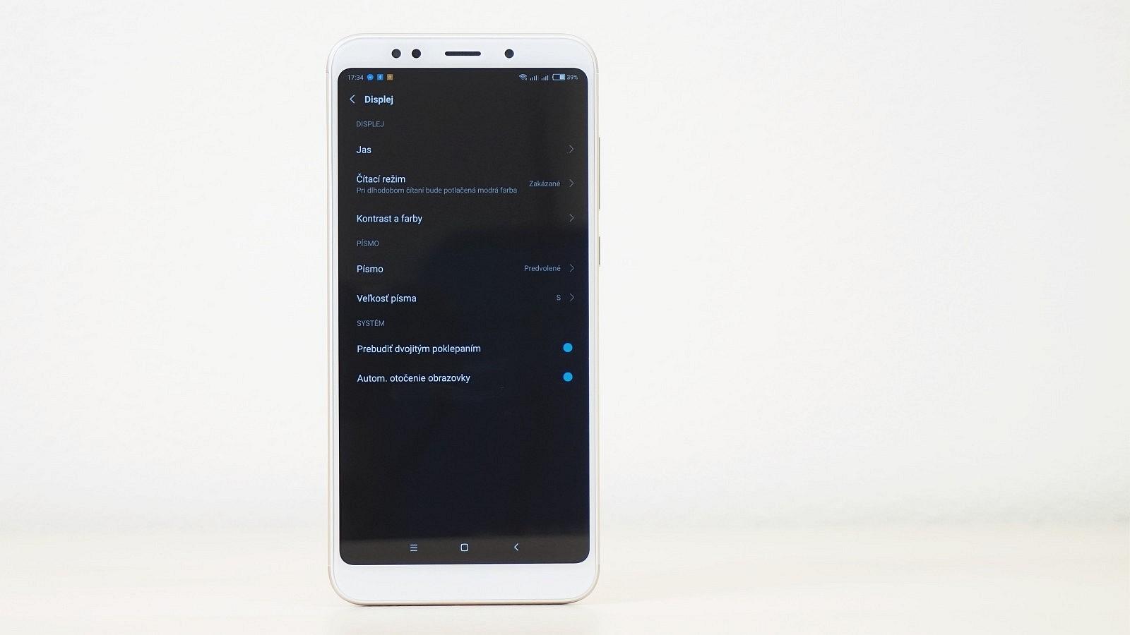 fa3fd13baa476 Xiaomi Redmi 5 Plus - dlháň s veľkou batériou