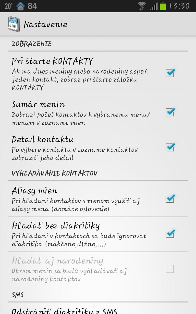 28e15d940 Android TIP: dokonalý prehľad o meninách a narodeninách Zdroj: www.fony.sk