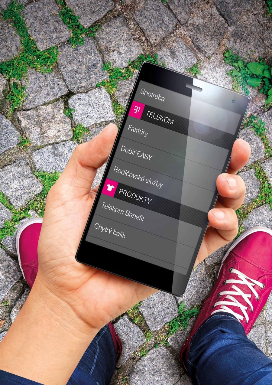 9d46a304d Telekom: s mobilnou aplikáciou už zaplatíte faktúru a dobijete kredit