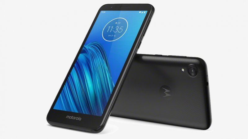 Motorola Moto E6 press image