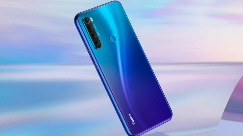 Xiaomi Redmi Note 8 press image