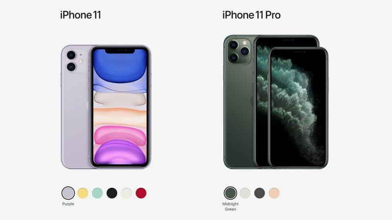 Apple iPhone 11  vs. iPhone 11 Pro