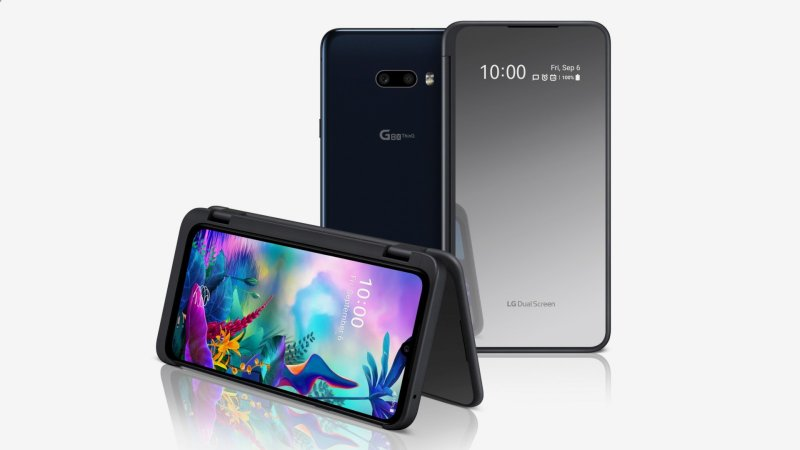 LG G8X ThinQ press image