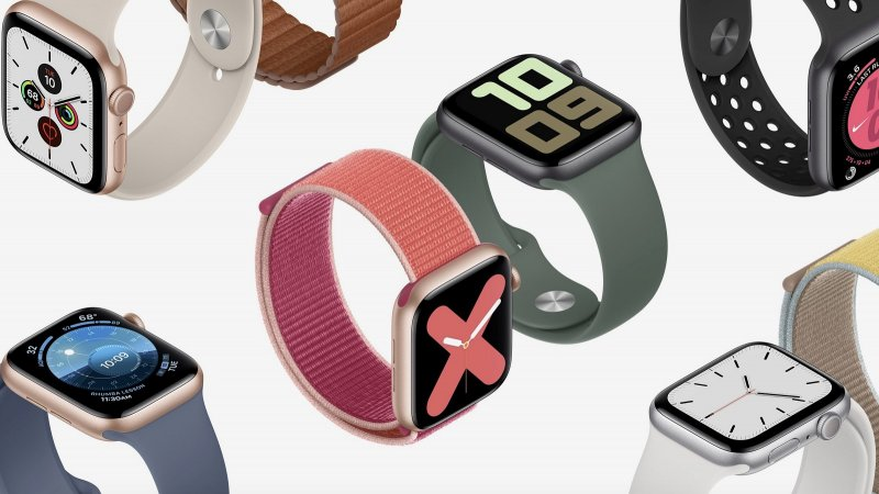 Apple Watch Series 5 press image