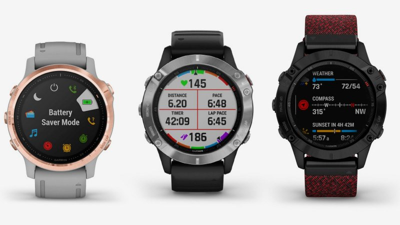 Garmin Fenix 6 press image