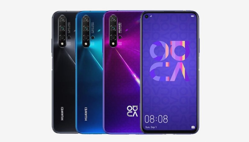 Huawei Nova 5T press image