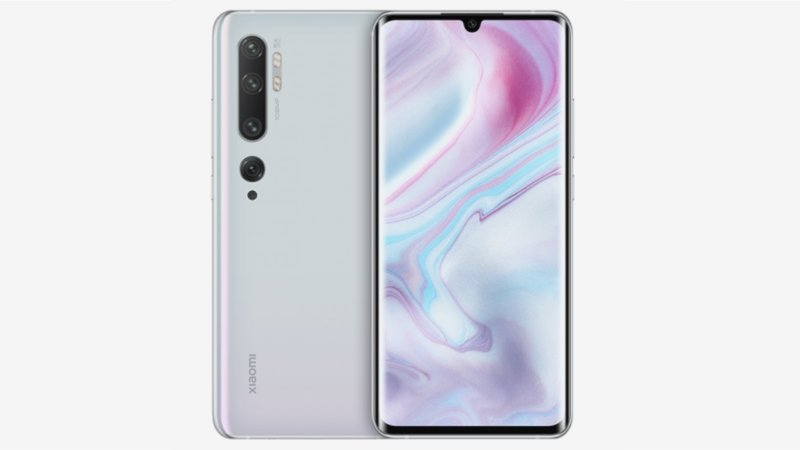 Xiaomi Mi Note 10 press image