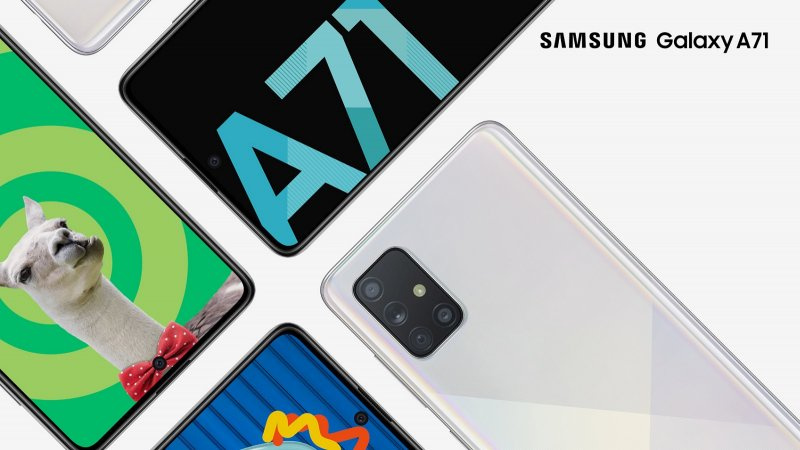 Samsung Galaxy A71 press image