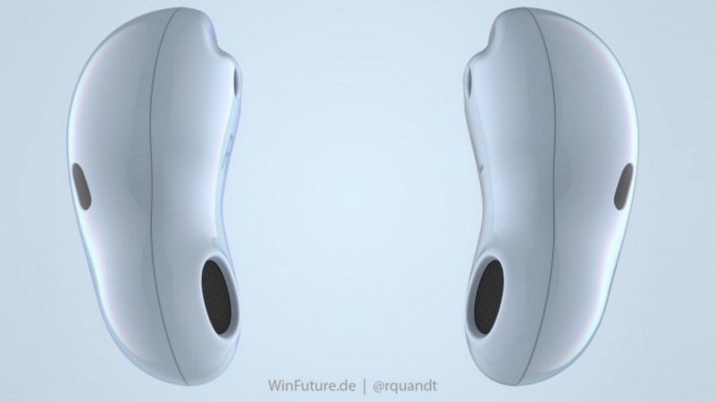 Samsung Galaxy Buds Bean render