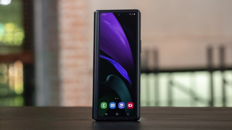 Samsung Galaxy Z Fold 2 5G press image