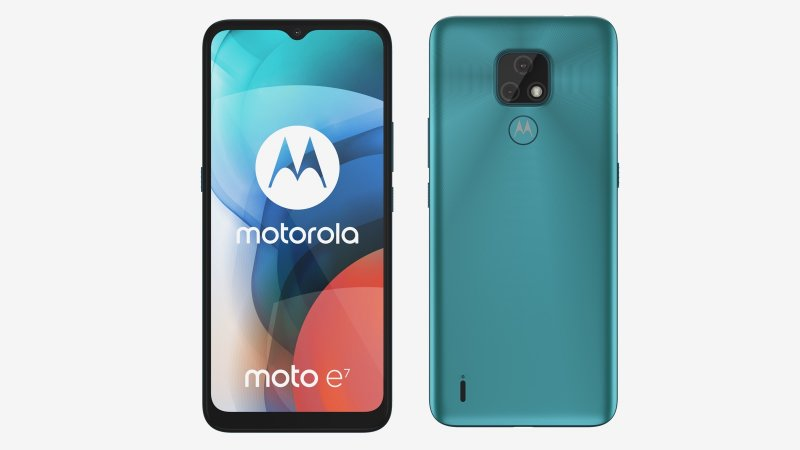 Motorola Moto E7 press image