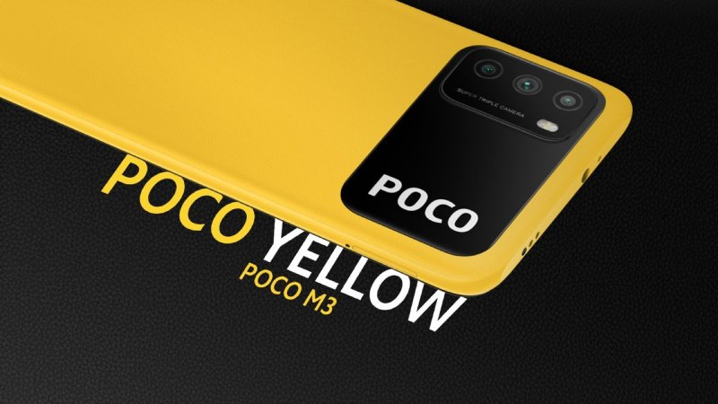 Poco M3 press image