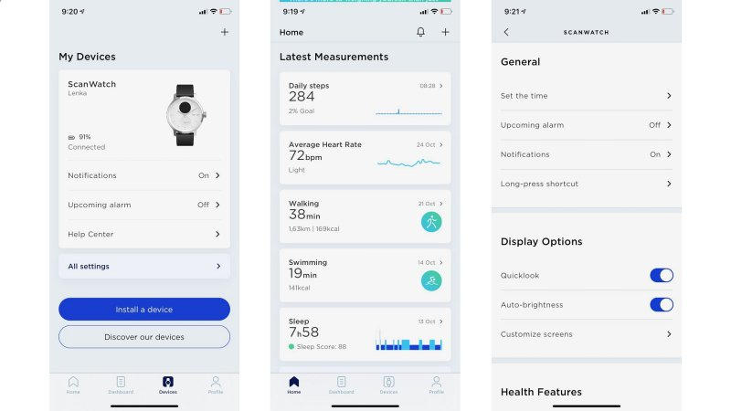 Withings ScanWatch - recenzia