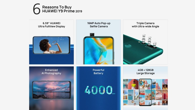 Huawei Y9 Prime (2019) press image