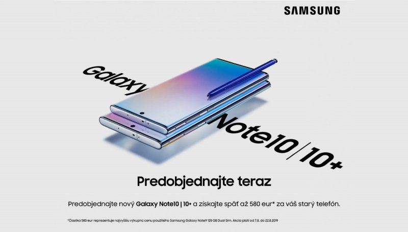 Samsung Galaxy Note 10 výkup