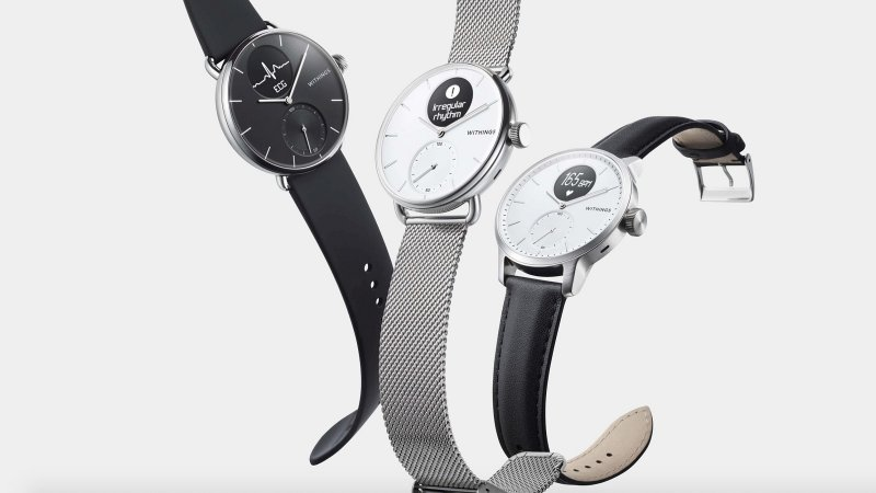 Withings Scanwatch press image