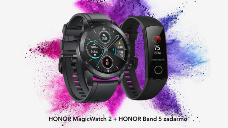 Honor MagicWatch 2 s darčekom Honor Band 5
