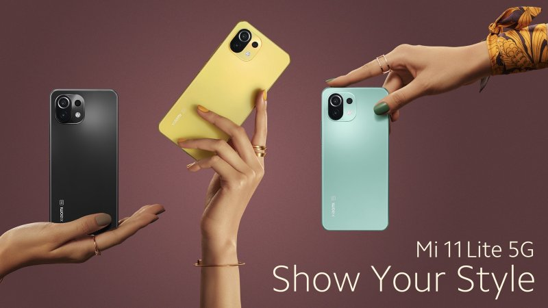 Xiaomi Mi 11 Lite 5G press image