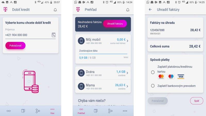 6a9cca510 Telekom uviedol vylepšenú mobilnú aplikáciu