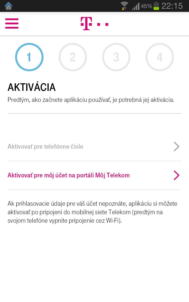 cd74319c3 Android TIP: Telekom - nová verzia mobilnej aplikácie
