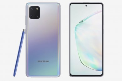 Samsung Galaxy Note 10 Lite press image